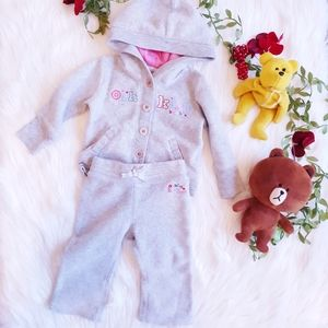 OSHKOSH Baby Girl Clothes PJ 12M